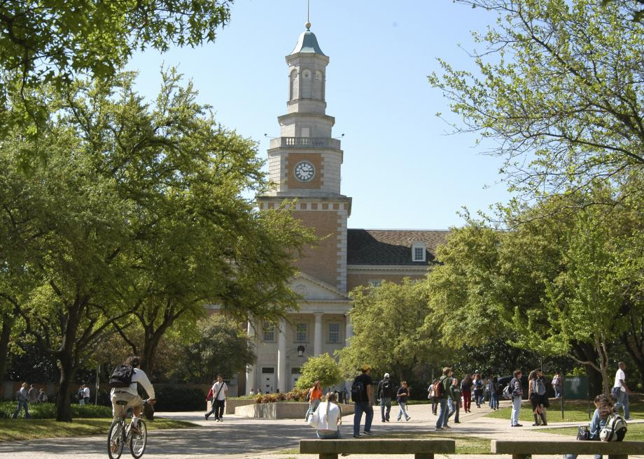UNT Denton; image from UNT website