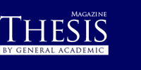 Thesis Magazine by General Academic